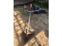 Echo petrol strimmer / brushcutter includes harness