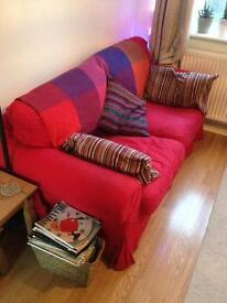 Ikea Ektorp 2 seater sofa 3 years old