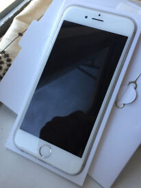 Good Condition iPhone 6 Silver 16GB on Vodafone, Lebara, Ownphone & Zest4 Mobiles