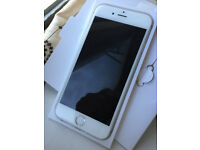 Good Condition iPhone 6 Silver on Vodafone, Lebara, Ownphone & Zest4 Mobiles