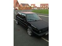 Mk2 golf gti 3 door full corrado 2.9 vr6 conversion