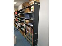 Metal Shelf rack unit for warehouse shop storage garage. Delivery.