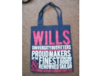 Jack Wills Canvas Bag