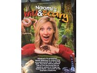 CBBC Naomi's Wild & Scary - The Anvil Basingstoke 20th April 2017 Row A; 2x Tickets