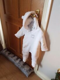Baby snowsuits / pramsuits