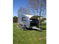 Dethleffs Campy Luxus Caravan