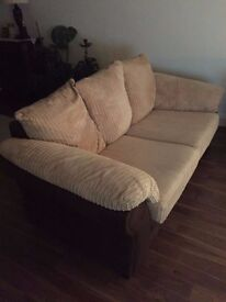 DFS 3 seater and 2 Seater sofa set