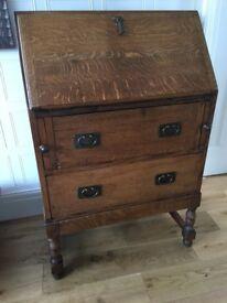 Vintage solid Wooden Bureau
