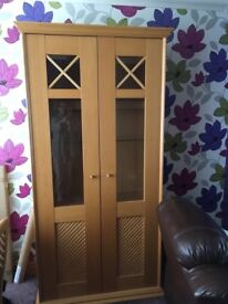 Display Cabinet - Very heavy! - Great condition!