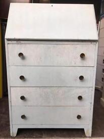 Modern finish old bureau FREE DELIVERY PLYMOUTH AREA