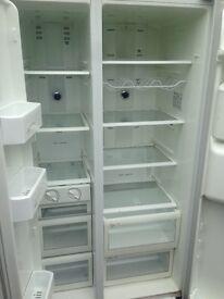 Samsung American white Fridge freezer....Cheap Free delivery