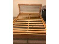 Lovely king size bed frame