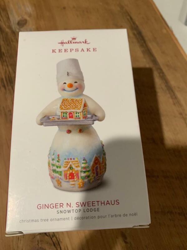 Hallmark Keepsake Ornament 2018 Snowtop Lodge Ginger N. Sweethaus 14th #14