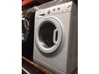HOTPOINT 8/6KG WASHER DRYER WHITE RECONDITIONED