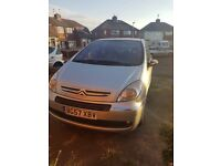 Silver Citroen Picasso spares and repairs