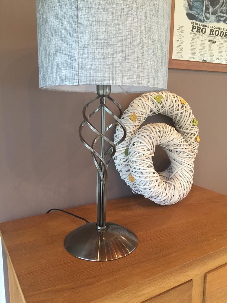 Contemporary metal lamp