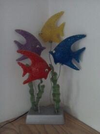 Fish ornamental light