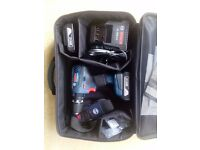 New Bosch GSB 18-2-LI Plus Combi drill, with 2 batteries + accessories - £110 (make a great present)