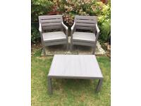 keter table and chair