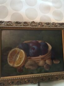 Lovely little oil painting by G. Crisp ,signed and dated 1898