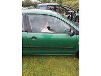 2003 vw polo drivers door
