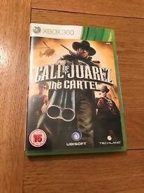 Call of Juarez the cartel Xbox 360 game
