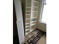 Ikea bookcase, wall shelves shelf joblot