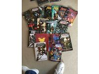 Huge Collection of Marvel & DC Graphic Novels for sale. Mint Quality.