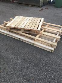Pallets for sale. 2 large and 1 small.