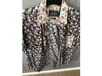 C Topman floral short sleeve shirt M