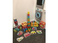 Baby Toy Bundle Shape Sorter Sensory POP Up Blocks Jigsaw Puzzle Bricks