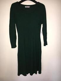 Women's JustFab knitted jumper dress, size Medium.