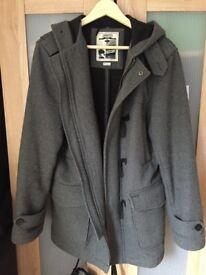 LAMBRETTA Retro 60s Melton Mod Duffle Coat