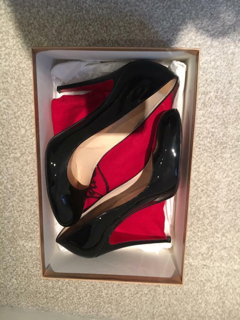 6e5d4455161 Black Christian Louboutin Heels Size 7 | in Earlsfield, London | Gumtree