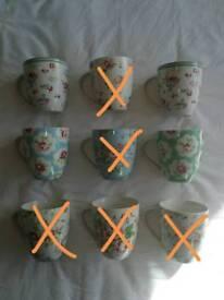 Cath Kidston crush mugs