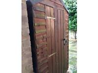 Free wooden shed!