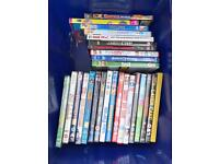 Box of over 20 dvds