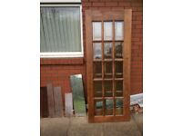 Selling Two 15 Pane Glass Doors
