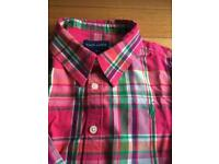 Genuine Ralph Lauren girls shirt age 7