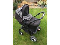 Silver Cross 'Special Edition' Pioneer 'Links' Pushchair and Carrycot