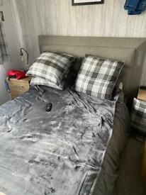 Double tv bed frame