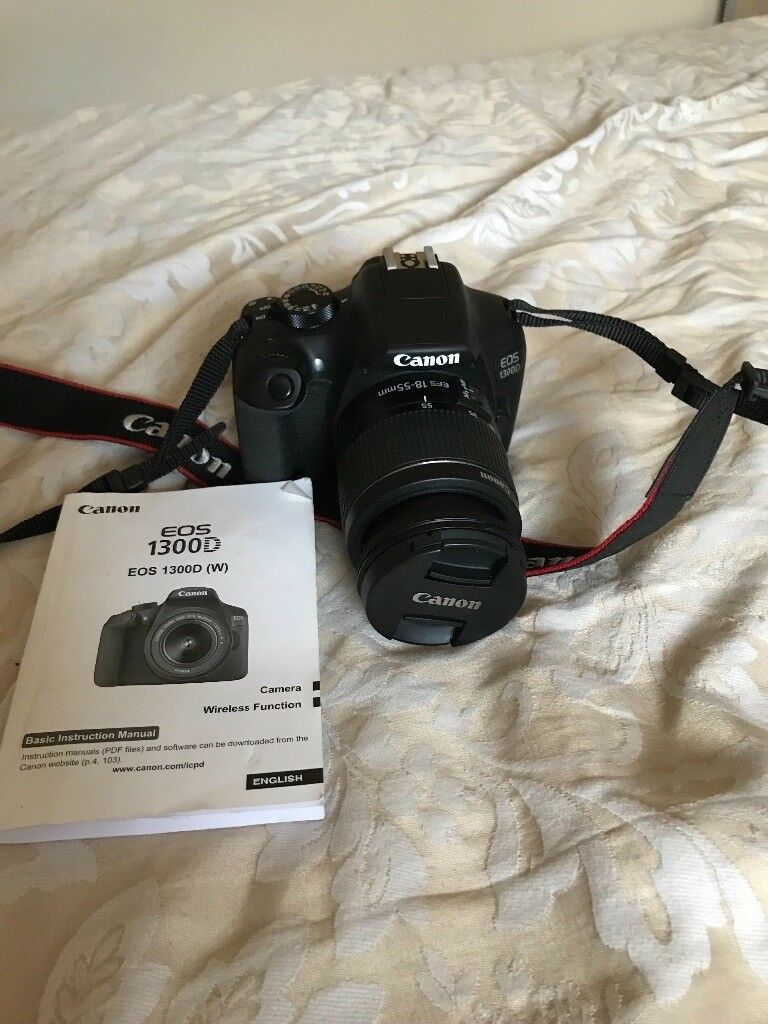 Canon Eos 1300d Kit With 18 55mm Iii Lens Digital Slr Camera In Kamera 55
