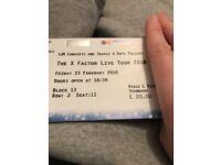 X-Factor tickets