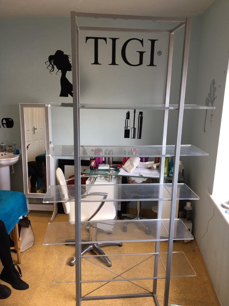Exhibition Stand Gumtree : Tigi bedhead retail product stand shelves salon display