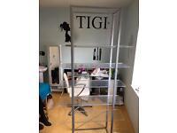 Tigi bedhead retail product stand shelves salon display