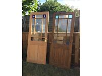 Pair of wooden doors, free to a good home