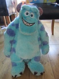 Large Monsters Inc. soft toy - Sully