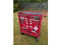 Lockable Metal Tool Chest on wheels (**SOLD**)