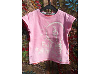 """Next Girls Pink """"Full Of Bright Ideas"""" T-Shirt, Age 2-3 Years"""