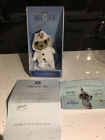 Oleg as Olaf Meerkat toy BNIB